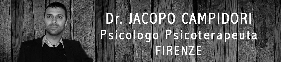 Psicologo Firenze – Dr. Jacopo Campidori
